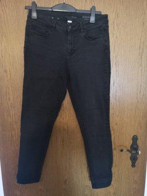 Tom Tailor Tube jeans zwart
