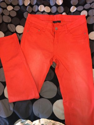 Esmara Carrot Jeans neon orange
