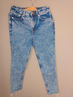 H&M Jeans a carota blu pallido-blu