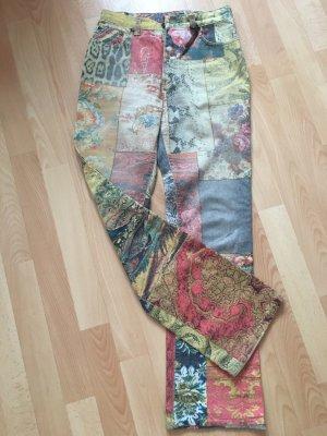 Roberto Cavalli Jeans svasati multicolore