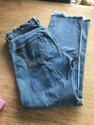 H&M Jeans svasati blu acciaio