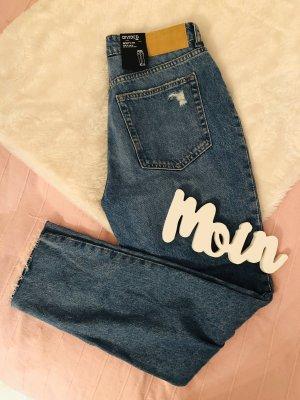 H&M Boyfriend jeans veelkleurig