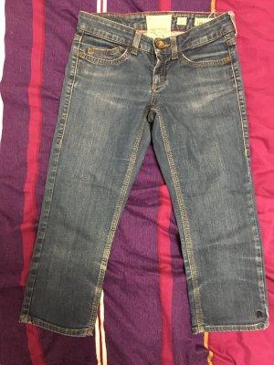 Anastacia 3/4-jeans blauw