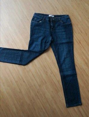 John Baner Jeansy z prostymi nogawkami ciemnoniebieski