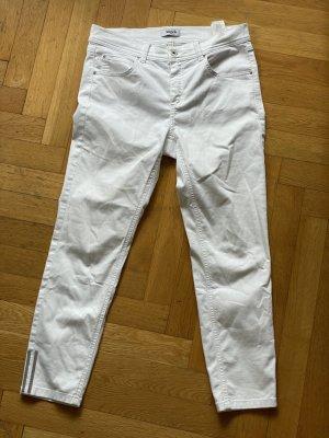 Angels Jeans 7/8 blanc coton