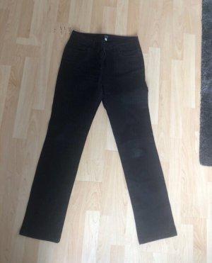 1.2.3. UN DEUX TROIS Paris Jeans met rechte pijpen zwart