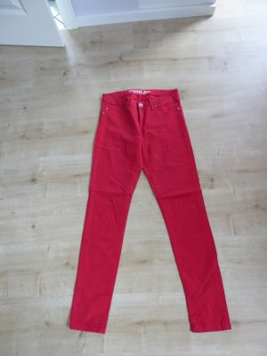 Sutherland Stretch jeans rood Katoen