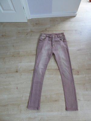 Low Rise Jeans multicolored cotton