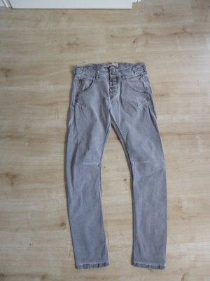 Timezone Jeans elasticizzati grigio-grigio scuro Cotone