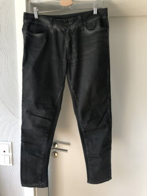 10 Days Low Rise jeans donkergrijs-antraciet