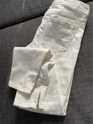 Zara Basic Stretch jeans wit