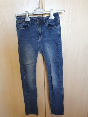 1.2.3 Paris Straight Leg Jeans dark blue-azure cotton