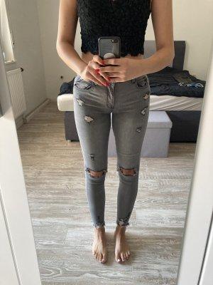 Shine Jeans a sigaretta grigio