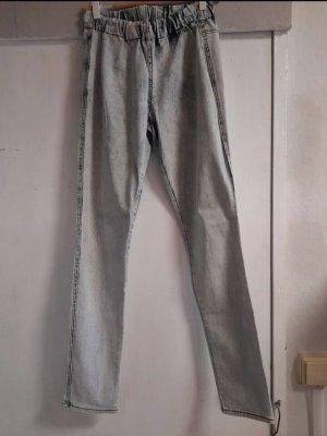 H&M Jeansy z prostymi nogawkami błękitny