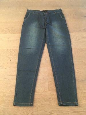 Woman by Tchibo Jeans larghi blu acciaio-blu scuro