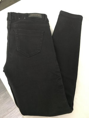 Review Jeans a carota nero Poliestere