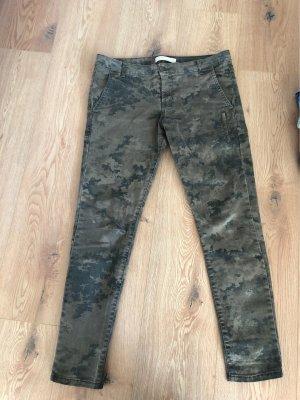 Zara Basic Low Rise jeans veelkleurig