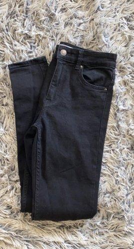 Bershka Skinny Jeans black