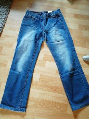 Cecil Boyfriend Trousers dark blue