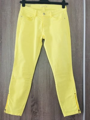 Deyk Jeans slim fit giallo