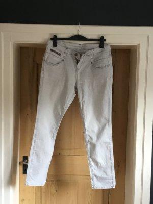 s.Oliver Jeans larghi grigio chiaro Cotone