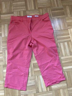 Brax Jeansy 7/8 różowy neonowy Bawełna