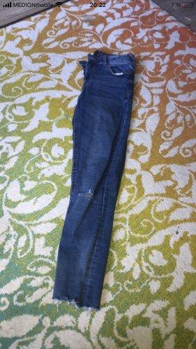 Amisu Stretch Trousers cornflower blue