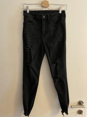 American Eagle Outfitters Jeans cigarette noir