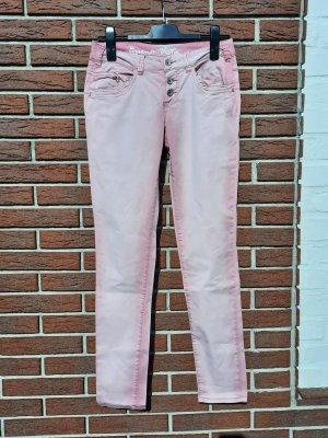 Buena Vista Tube jeans roze