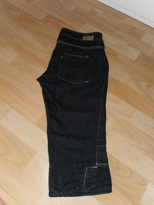Mango 3/4-jeans donkerblauw