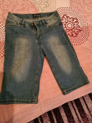 Arizona 3/4 Length Jeans azure cotton