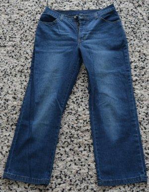 Jeans 3/4 mit Strass Gr. ca. 38