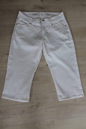 Street One Jeansy 3/4 biały Bawełna