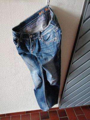 Blue Monkey Jeans slim bleu