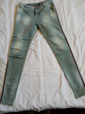 Maryley Jeans a sigaretta verde-grigio