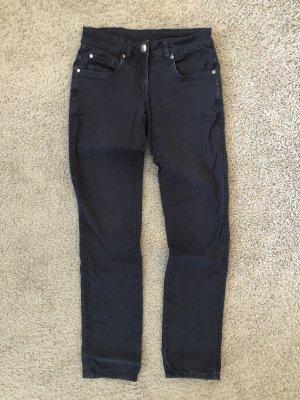 Jeans de moto bleu foncé