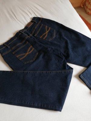 John Baner Jeans boyfriend bleu foncé