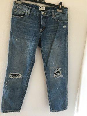 Mango Boyfriend Jeans steel blue