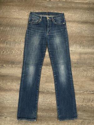 7 For All Mankind Jeans elasticizzati blu