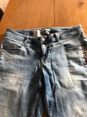 Street One 7/8 Length Jeans steel blue