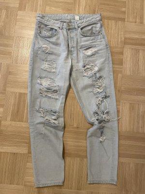 & DENIM Boyfriend Jeans light blue-blue