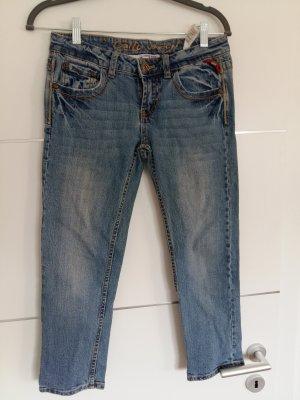 Tally Weijl Jeans a 3/4 blu