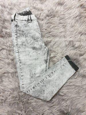 Cheap Monday Jeans a vita alta multicolore