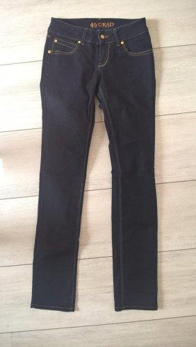 40 Grad Jeans met rechte pijpen donkerblauw
