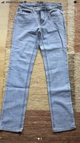 John Baner Jeansy z prostymi nogawkami błękitny