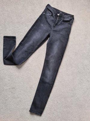 H&M Vaquero slim negro