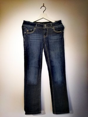 Colours of the World Low Rise Jeans blue
