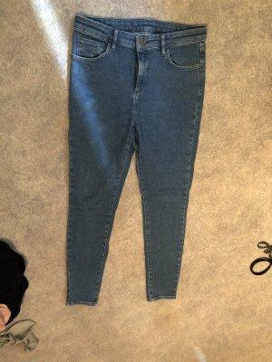 BumBum Hoge taille jeans blauw