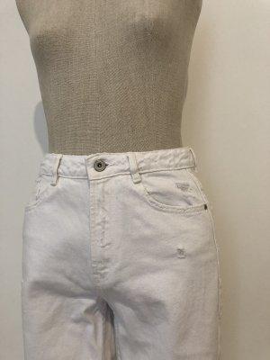 Zara Jeans boyfriend blanc