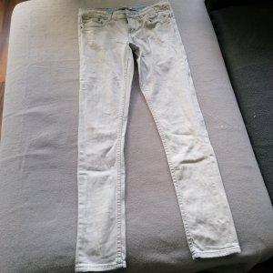 Garcia Jeans Spodnie rurki jasnoniebieski